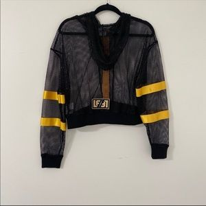 LF Jackets & Coats - New! LF super sexy mesh jacket NWT